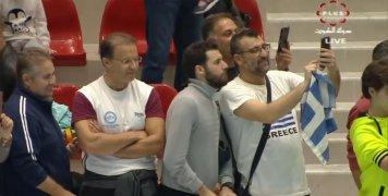 Δυναμικό παρών στο Κουβέιτ από έλληνες φιλάθλους