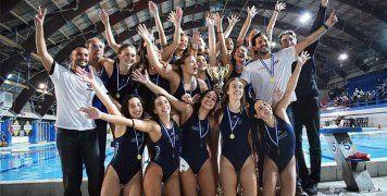 Πρωταθλήτρια Ελλάδος στις Νέες Γυναίκες με τη Γλυφάδα η Ελένη Κανετίδου