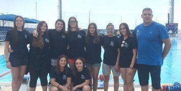 Η ομάδα Νεανίδων του ΝΟΧ που κατέλαβε την 7η θέση στο Πανελλήνιο Πρωτ/μα
