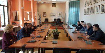 Από τη συνάντηση ΝΟΧ-ΚΟΕ με τον Δήμαρχο Χίου