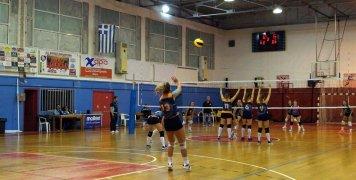 Φάση από παιχνίδι του Νηρέα Καρδαμύλων στο Κλειστό Γυμναστήριο Χίου