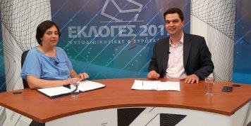 Τελευταία συνέντευξη Κώστα Τριαντάφυλλου στην Αλήθεια TV πριν το β' γύρο των εκλογών