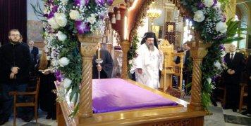 Η τελετή της Αποκαθήλωσης στον Μητροπολιτικό Ναό Χίου