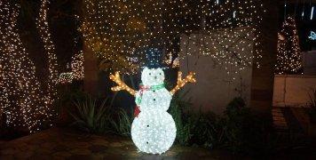 Φωτίστηκε γι' ακόμη μία χρονιά γιορτινά το Αργέντικο