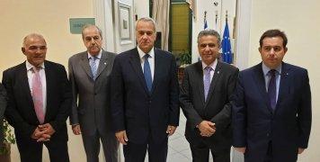 Σειρά επαφών με τις τοπικές αρχές είχε στη Χίο ο Μάκης Βορίδης