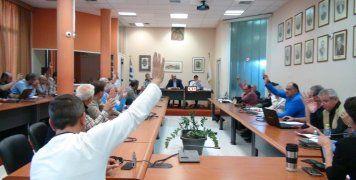 Συνεδρίαση του Δημοτικού Συμβουλίου Χίου