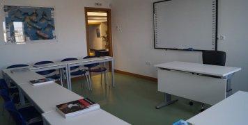 Μια από τις 6 αίθουσες διδασκαλίας