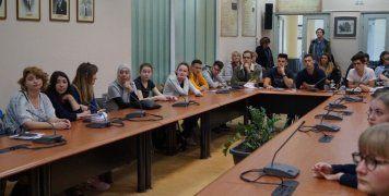 Επίσκεψη των παιδιών από το πρόγραμμα erasmus στο Δήμο Χίου