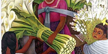 Diego Rivera: «The flower seller»