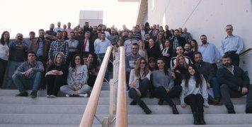 """Στελέχη και εργαζόμενοι που συμμετείχαν στο πρώτο Program Increment Planning Event, στο Κέντρο Πολιτισμού """"Ίδρυμα Σταύρος Νιάρχος""""."""