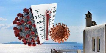 Ήλιος, ζέστη και υγρασία αποδυναμώνουν το νέο κορωνοϊό που μας ταλαιπωρεί
