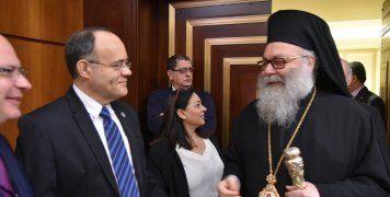 Με τον Πατριάρχη Αντιοχείας