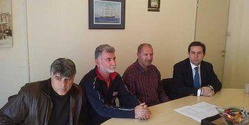 Συνάντηση Ν. Μηταράκη με εργαζόμενους του ΕΚΑΒ
