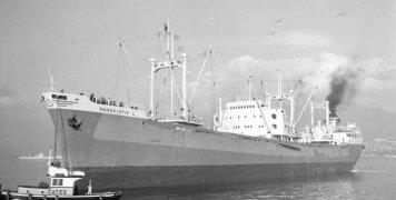 Στη φωτό το δεύτερο πλοίο που μπαρκάρισα το 1972, το «Παναγιώτης Λ».