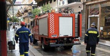 Προληπτική η παρουσία της Πυροσβεστικής στην Απλωταριά