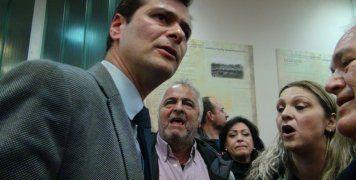 Ο Μιχ. Ρακιντζής στην τελευταία συνεδρίαση του Δημ. Συμβουλίου