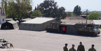 Το διπλό τεθωρακισμένο Στρατηγείο της 96 ΑΔΤΕ