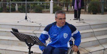 Ο Πρόεδρος των ελλήνων Παραολυμπιονικών, Σίμος Παλτσανιτίδης