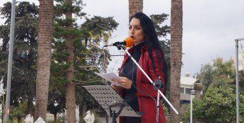 Η κεντρική ομιλήτρια Γεωργία Μπιτάκου