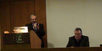 Διάλεξη του καθηγητή Χρ. Χαραλαμπάκη