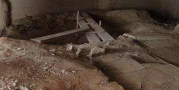 Νέα πτέρυγα Νοσοκομείου, Αρχαιολογική υπηρεσία
