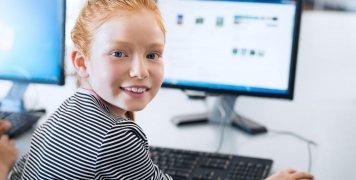 παιδί, υπολογιστής, ηλεκτρονική αγορά