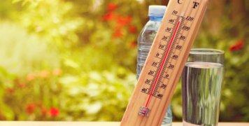 θερμόμετρο τοίχου, νερό