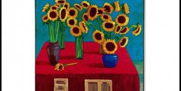 hockney-30-sunflowers