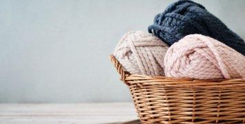 κουβάρια με μαλλί για πλέξιμο