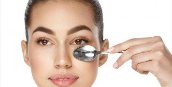 κουτάλι γυναίκα ομορφιά μάτια