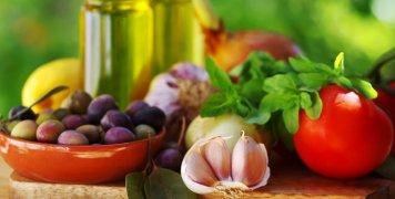 φρούτα και λαχανικά της μεσογειακής διατροφής