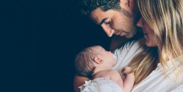 μητέρα, πατέρας, μωρό