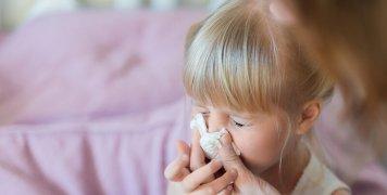 παιδί γρίπη
