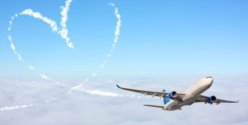 έρωτας σε αεροπλάνο