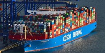 πλοίο μεταφοράς κοντέινερ