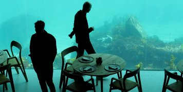 το πρώτο υποθαλάσσιο εστιατόριο της Ευρώπης