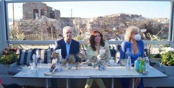 """Στη Χίο η Μιμή Ντενίση για τα γυρίσματα της ταινίας """"Σμύρνη μου αγαπημένη"""""""