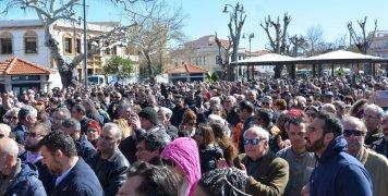 Νέα κινητοποίηση Χιωτών στην Πλατεία Πλαστήρα ενάντια στην αστυνομική βία