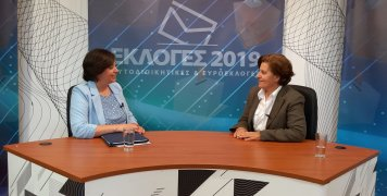 Η Χριστιάνα Καλογήρου σε συνέντευξη στην Αλήθεια TV και στην Ειρήνη Αναγνώστου