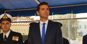 Για πρώτη φορά στην εξέδρα των επισήμων ο νέος Πρόεδρος Πρωτοδικών Χίου Ευστάθιος Μερκούρης