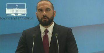 Ο Δημήτρης Τζανακόπουλος ανακοινώνει τον ανασχηματισμό