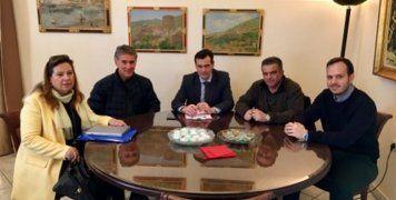 Συνάντηση για το κτηματολόγιο στο Δημαρχείο Χίου