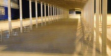 Τα στέγαστρα του λιμένα Μεστών χωρητικότητας τουλάχιστον 1000 επιβατών