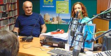 """Μανώλης Γεωργούλης και Χριστίνα Γιαννόπαπα στο """"Ράδιο Αλήθεια"""""""