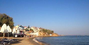 Η παραλία του Μέγα Λιμνιώνα