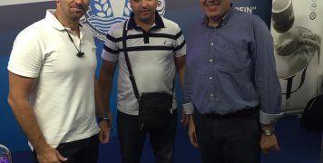 Επίσκεψη Κώστα Τρομπούκη στο περίπτερο του Επιμελητηρίου Χίου στη ΔΕΘ cd89926d648