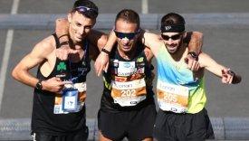Οι τρεις πρώτοι έλληνες νικητές του μαραθωνίου δρόμου της Αθήνας το 2018