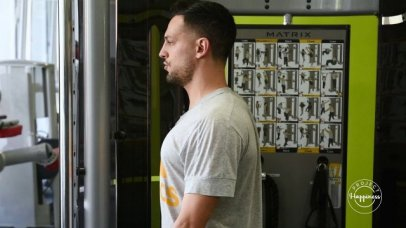 Project Happiness: Βελτίωση στάσης σώματος με όργανα στο γυμναστήριο Ηρακλής