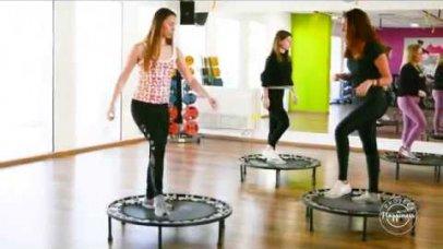 Project Happiness: Γυμναστική με τραμπολίνο με τη Σμαράγδα Χουζούρη