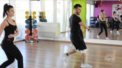 Project Happiness: Το ομαδικό πρόγραμμα coreo aerobic από τον Ξενοφώντα Κουτσουλιά